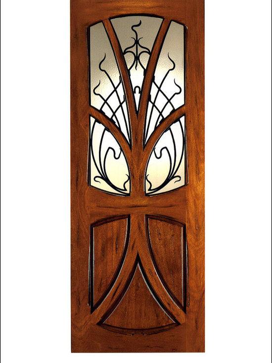 Art Nouveau Entry Doors Model # AN-2007 -
