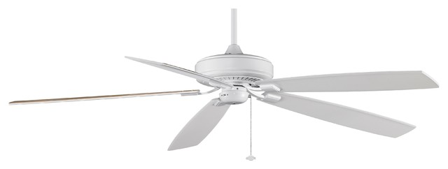 Fanimation Edgewood Supreme 72-inch White Ceiling Fan contemporary-ceiling-fans