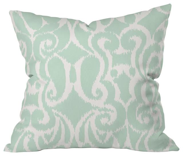Khristian A Howell Eloise Throw Pillow, 16x16x4 mediterranean-decorative-pillows