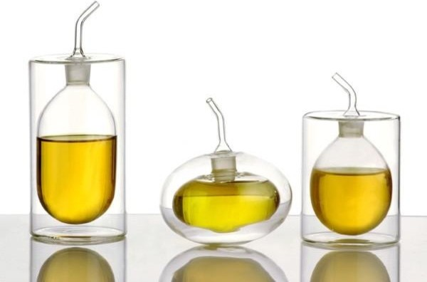 Rings Double Walled Oil/Vinegar Pourer contemporary-food-containers-and-storage