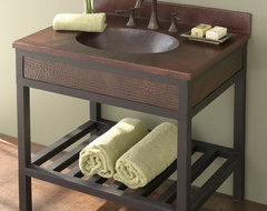"""Cuzco 30"""" Vanity in Antique by Native Trails contemporary-bathroom-vanities-and-sink-consoles"""