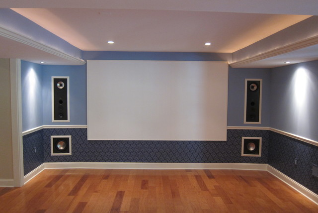 Custom Home Theater : Custom Home Theater - Traditional - Home Theater - philadelphia - by ...
