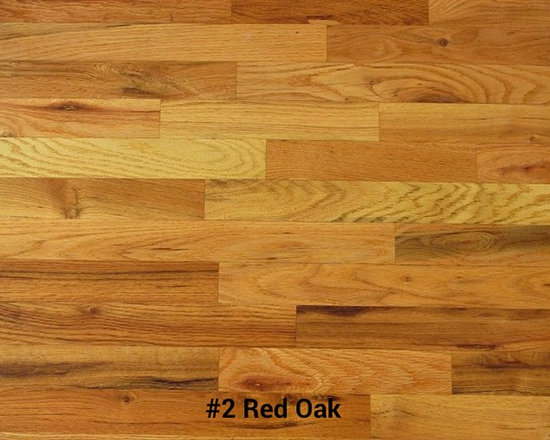 Red Oak  |  Unfinished -