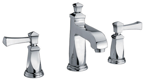 Two Handle Lavatory Faucet contemporary-bathroom-faucets-and-showerheads