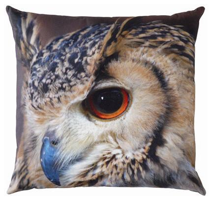 By Nord Owl Pillow modern-pillows