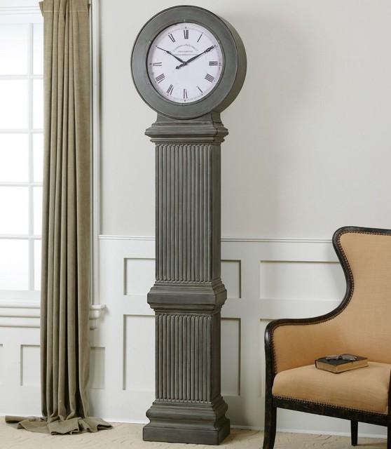 Chouteau Floor Clock Modern Floor And Grandfather Clocks By Modern Furn