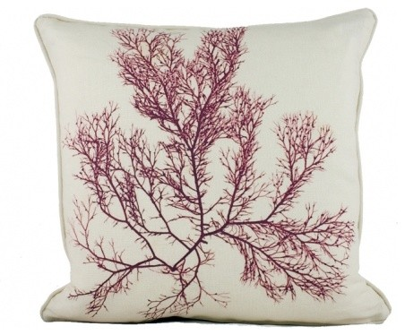 Strange and Scintillating Seaweed Pillow traditional-decorative-pillows