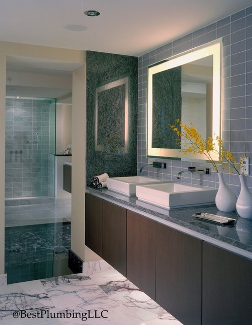 Electric Mirror Showroom Modern Bath Products Seattle By Best Plumbing Seattle