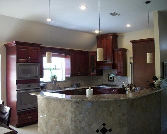 kitchen cabinet &granite countertop -