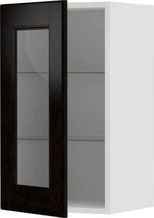 AKURUM Wall cabinet with glass door - modern - kitchen cabinets ...