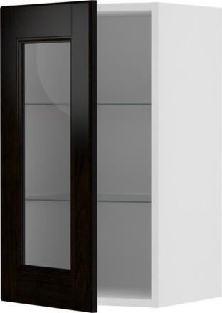 AKURUM Wall cabinet with glass door - Scandinavian - Kitchen Cabinetry - by IKEA