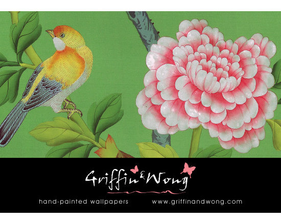 Griffin and Wong Ltd - Asian style handpainted Chinoiserie wallpapers