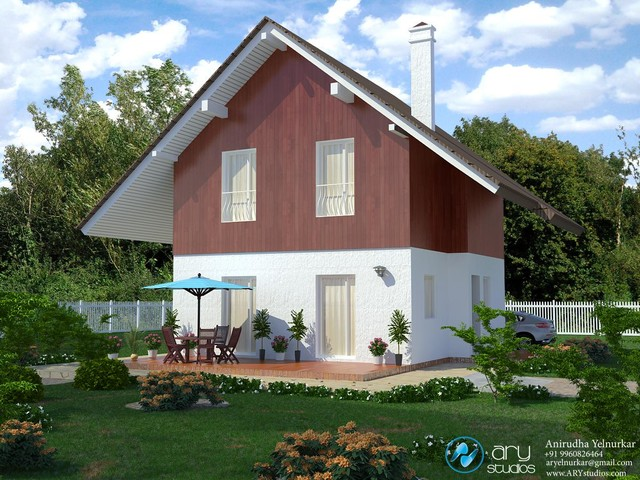 3d Architectural Rendering traditional-rendering