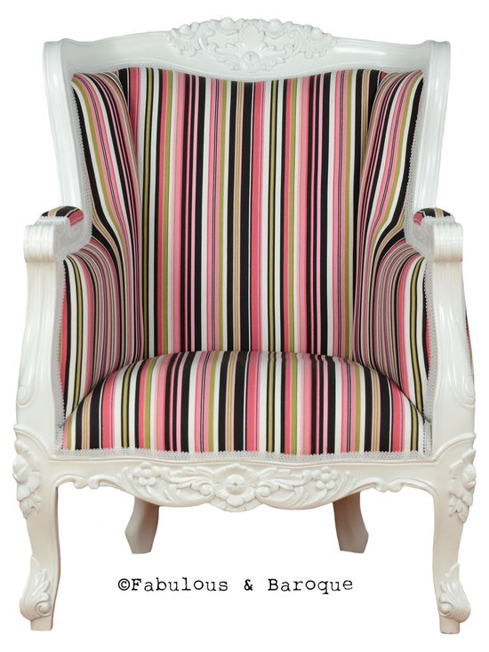 Fabulous and Baroque's Chairs & Benches - Fabulous and Baroque's Aveline Chair