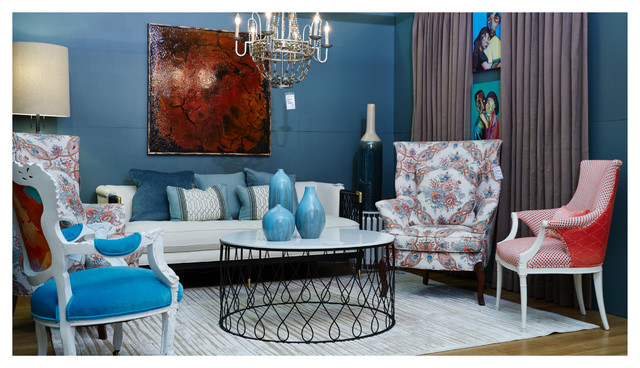 Housingworks Design On A Dime 2015 Nyc Eclectic Living Room New York By Nile Johnson