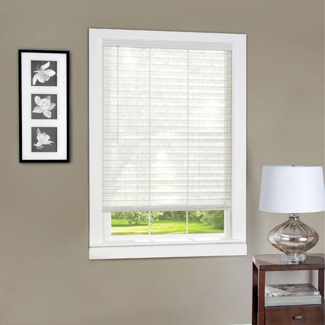 Light vane cordless 2 inch slat window blind for 2 inch window blinds