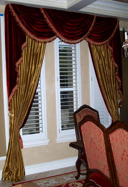 Formal Elegance Traditional Curtains Tampa By