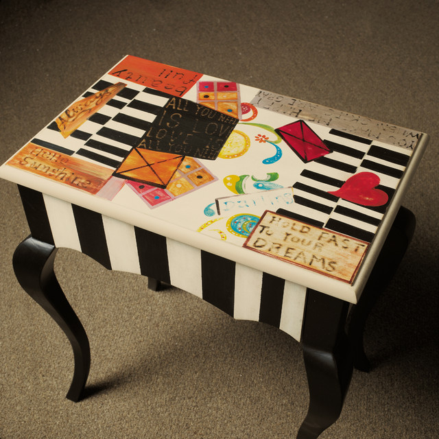 Accentrics Home Table eclectic-side-tables-and-end-tables