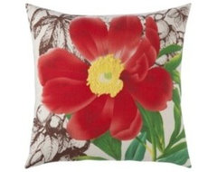 Accessories - floral pillow contemporary-pillows