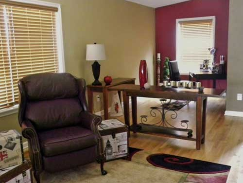 Ranch Staging eclectic-living-room