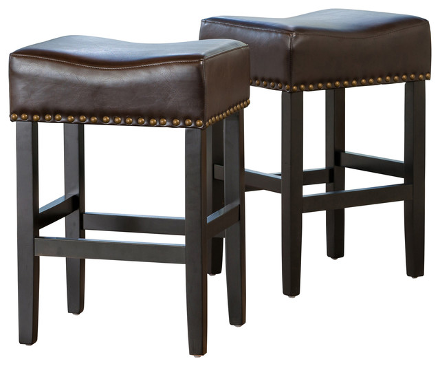 Counter Height Leather Bar Stools : ... / Dining / Kitchen & Dining Furniture / Bar Stools & Counter Stools