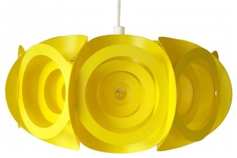 Submarine Lamp Shade - White modern-home-office-products