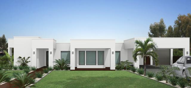 3D External Renders & Artist Impressions modern-rendering