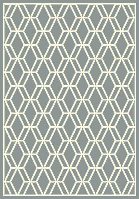 Dynamic Rugs Trend 6.7X9.6 89050-5969 Light Grey contemporary-area-rugs