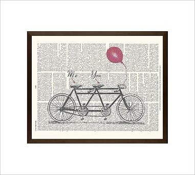 "Zlatka Paneva Framed Print, Tandem, No Mat, 16 x 20"", Espresso traditional-artwork"