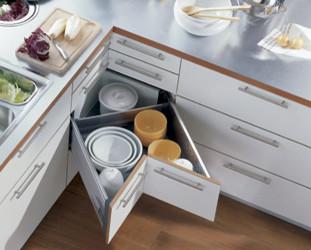 Blum kitchen accessories-space corner contemporary
