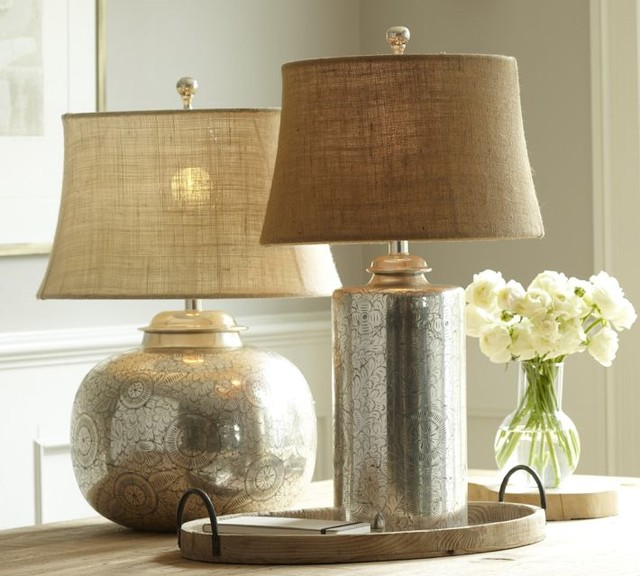 Geena Table Lamp Bases Contemporary Lamp Bases By