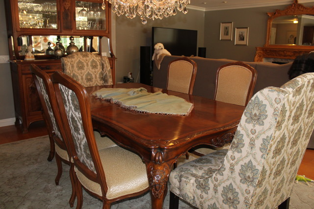 Parkmor Redesign/Before 6/12 traditional-dining-room