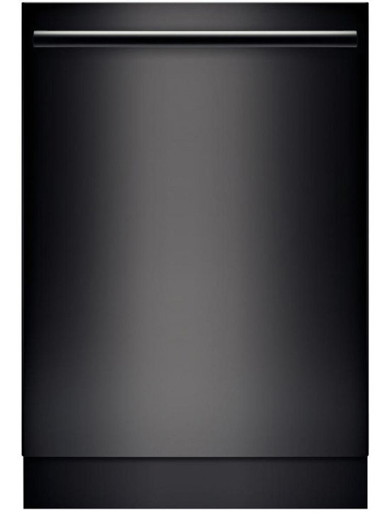 """Bosch 24"""" Bar Handle 800 Series Dishwasher, Black 