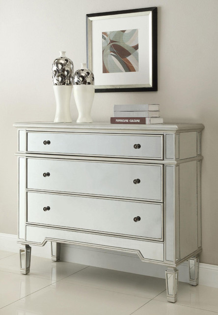 Silver Accent Chest modern-dressers-chests-and-bedroom-armoires
