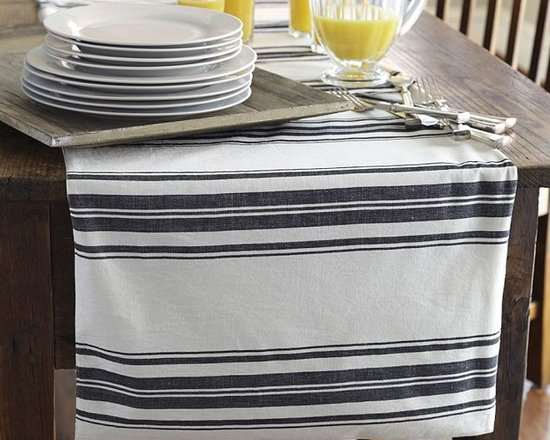Evan Stripe Table Runner -