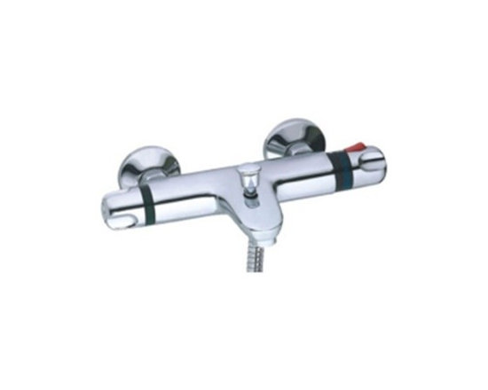 Shower Faucets - Amazing Thermostatic Chrome Wall-mount Shower Faucet--FaucetSuperDeal.com