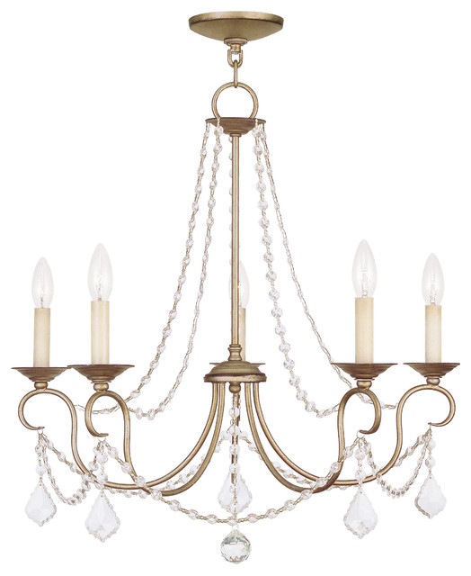 Livex Lighting 6515-73 Ceiling Light/Chandelier contemporary-chandeliers