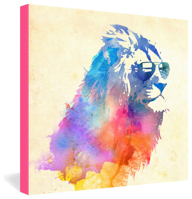 Robert Farkas Sunny Leo Gallery Wrapped Canvas eclectic-prints-and-posters