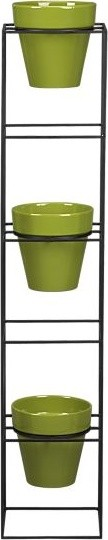 contemporary outdoor planters by Crate&Barrel