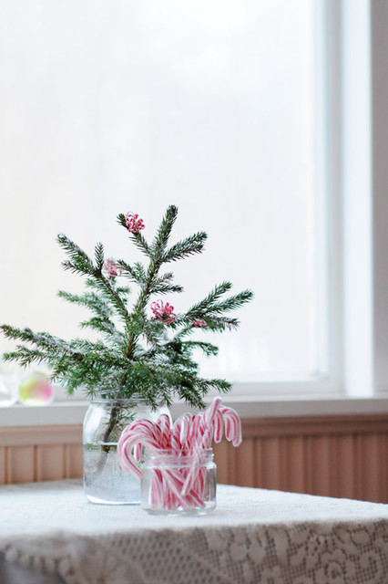 Tiny Christmas tree eclectic