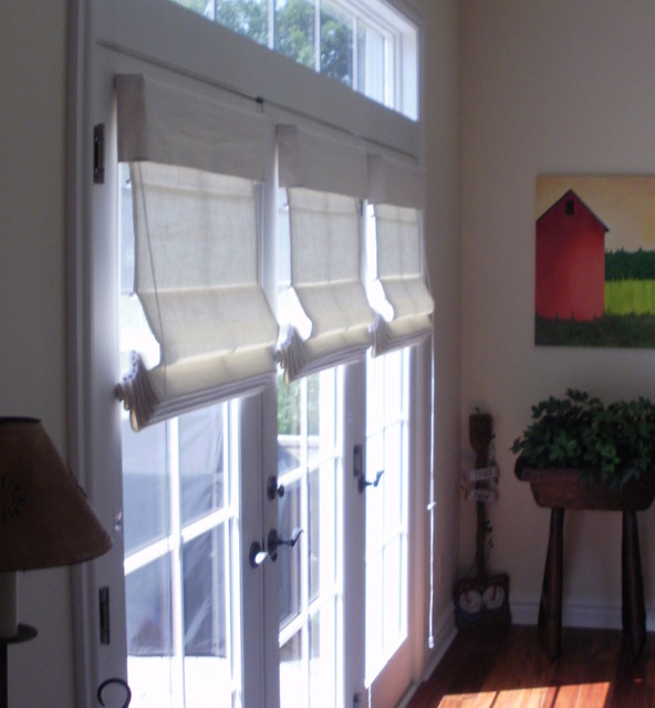 Recent Projects eclectic roman blinds