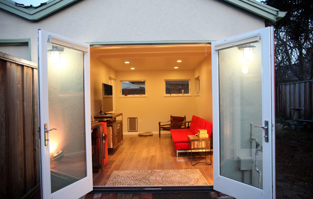 Houzz garage conversion joy studio design gallery best for Garage family room