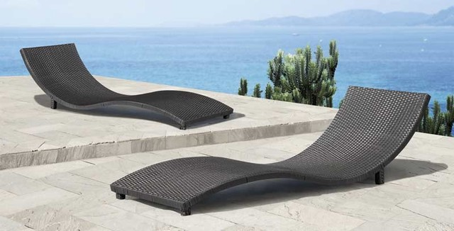 Sydney Lounge Chair By Zuo Modern - modern - outdoor chaise lounges