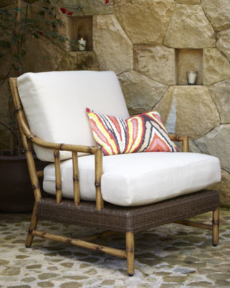 South Terrace Outdoor Lounge Chair traditional-outdoor-chaise-lounges