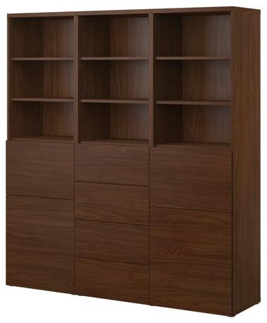BESTÅ Storage combination w doors/drawers - Modern ...