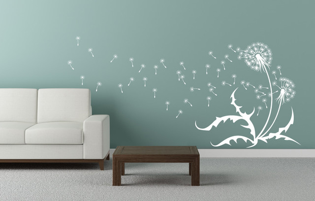 Dandelion Wall Decal contemporary-wall-decals