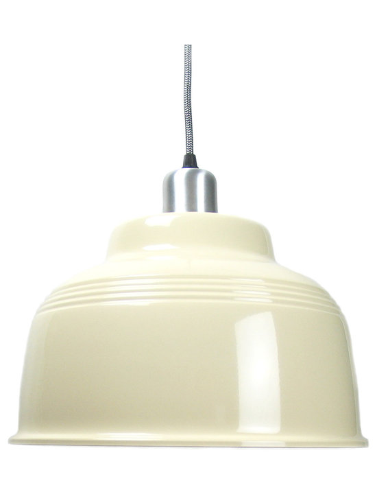 Cafe Lamp - Cream -