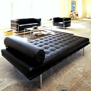 Barcelona day bed modern furniture other metro by for Modern day furniture