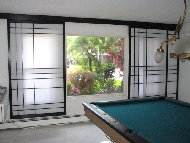Home Decor Sliding Doors: Shoji Screens For Patio Door With Sliding Track