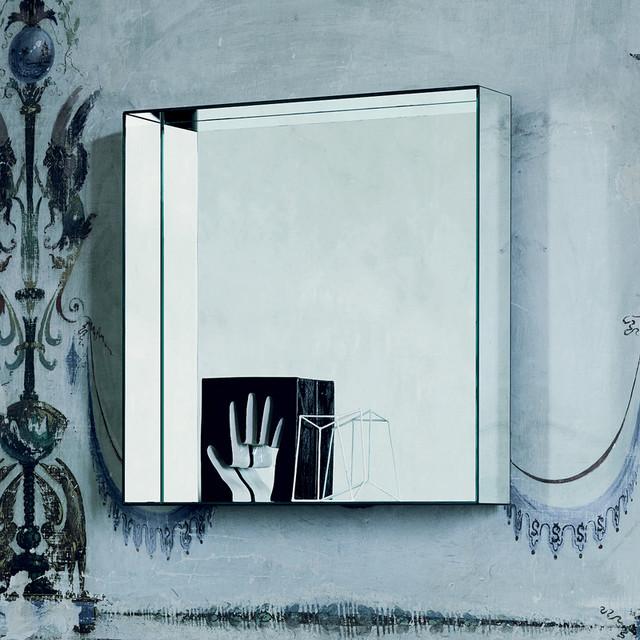 Glas Italia Mirror Mirror Wall Mirror - Without Shelves modern-mirrors